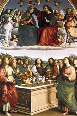 The Crowning of the Virgin (Oddi Alta), 1502-1503 by Raphael