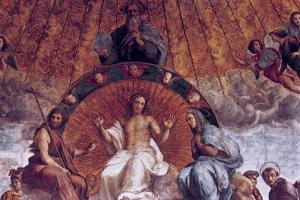 The Disputation on the Holy Sacrament (Detail), 1508-1509 by Raphael
