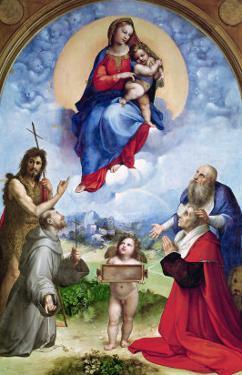 The Foligno Madonna, circa 1511-12 by Raphael
