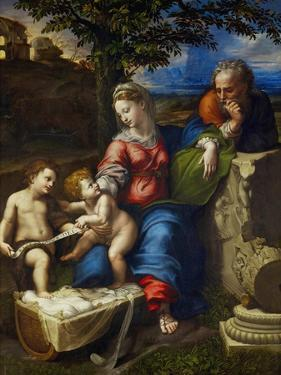 The Holy Family Under an Oak Tree by Raphael