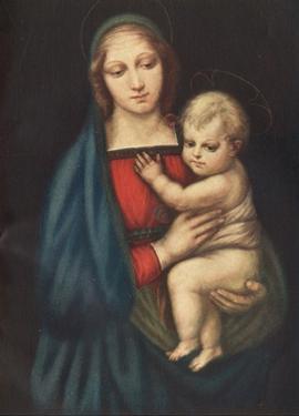 'The Madonna Del Gran Duca', 1505, (c1912) by Raphael