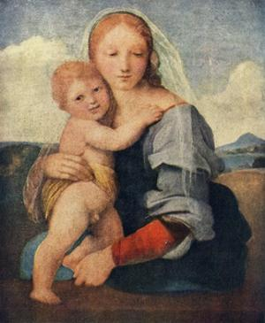 'The Madonna of the Tower', 1509-1511, (c1912) by Raphael
