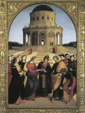 The Marriage of the Virgin by Raphael