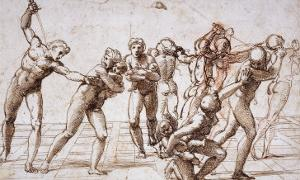 The Massacre of the Innocents, Around 1509 by Raphael