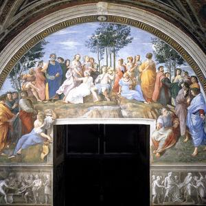 The Parnassus, 1509-1511 by Raphael