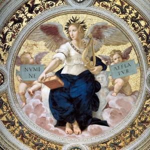 The Poetry. Stanza Della Segnatura, 1508 by Raphael
