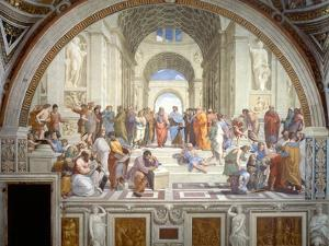 The School of Athens, 1509-1511 by Raphael