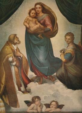 'The Sistine Madonna', 1512, (1911) by Raphael