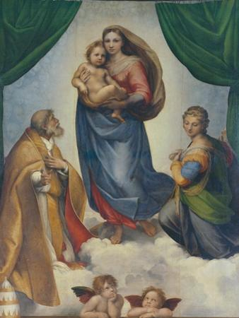 The Sistine Madonna, about 1513