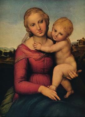 'The Small Cowper Madonna', 1505 by Raphael