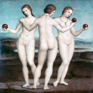 The Three Graces, 1504-1505 by Raphael
