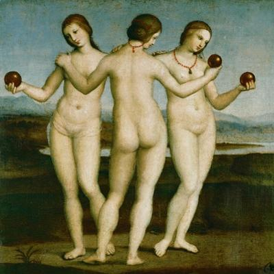 The Three Graces. by Raphael