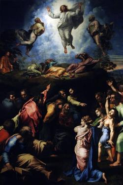The Transfiguration of Christ, 1516-1520 by Raphael