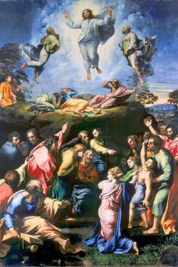 The Transfiguration of Christ by Raphael