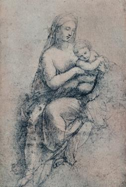 The Virgin and Child, study for the Madonna di Foligno, c1511. (1903) by Raphael