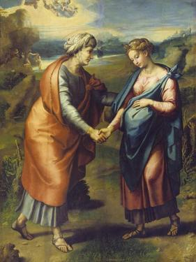 The Visitation by Raphael