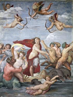 Triumph of Galatea, C. 1512 by Raphael
