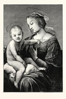 Virgin and Child, an Italian Painter and Architect by Raphael