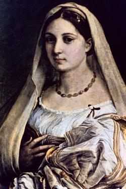 Woman with a Veil (La Donna Velat), 1512-13 by Raphael