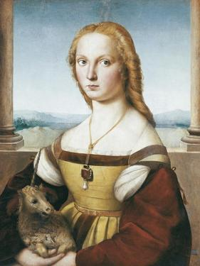 Woman with an Unicorn by Raphael