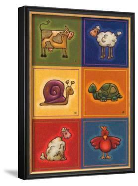 Six Petits Animals by Raphaele Goisque