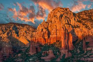 Sedona Canyon at Sunset by raphoto