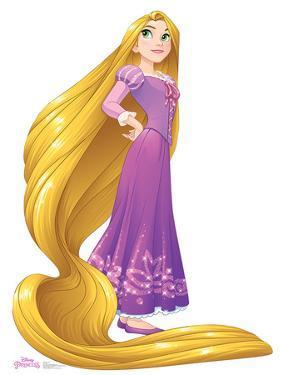 Rapunzel - Disney Princess Friendship Adventures Lifesize Cardboard Cutout