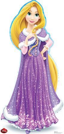 Rapunzel Holiday - Disney Lifesize Standup
