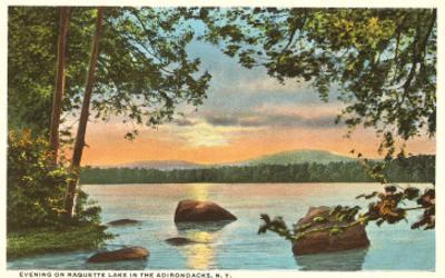 Raquette Lake, Adirondacks, New York