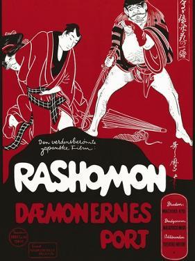 Rashomon, Japanese Movie Poster