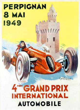 4th Grand Prix, Perpignan, 1949 by Raspaut