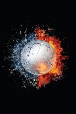 Volleyball Ball by RaStudio