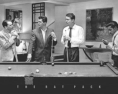 Rat Pack - Shooting Pool