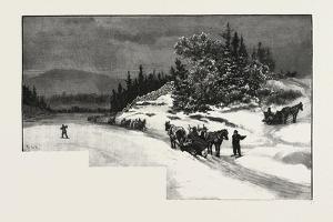 Rat River Landing, Canada, Nineteenth Century
