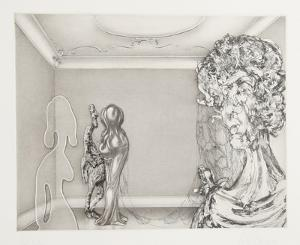 Four Ladies in A Windowless Room by Rauch Hans Georg