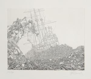The Galleons Suite - Bateau et Ossements by Rauch Hans Georg