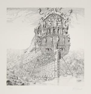 The Galleons Suite - Untitled #1 by Rauch Hans Georg