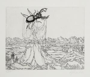 Untitled - (Beetle) by Rauch Hans Georg