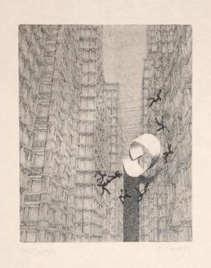 Untitled - Men Caught in a Web by Rauch Hans Georg
