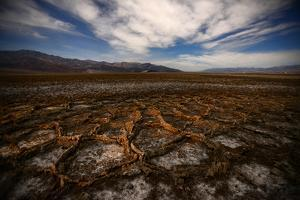 Badwater Salt Flats in Death Valley National Park by Raul Touzon