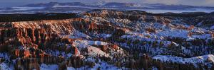 Bryce Amphitheater in Winter by Raul Touzon