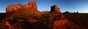 Buttes at Monument Valley Tribal Park by Raul Touzon