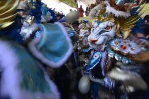Carnival in the City of La Vega by Raul Touzon