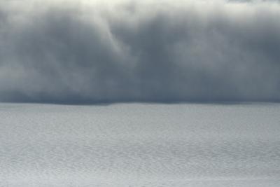 Dangerous storm over Hofsjokull glacier. by Raul Touzon