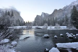 El Capitan Reflected in the Merced River by Raul Touzon