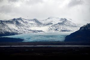 Glaciers in Vatnajokull National Park on the South Coast of Iceland by Raul Touzon