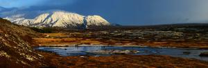 Landscape of Thingvellir National Park in Iceland by Raul Touzon