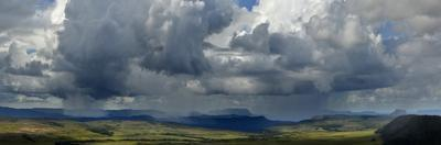 Late Afternoon Rainfalls in the Gran Sabana by Raul Touzon
