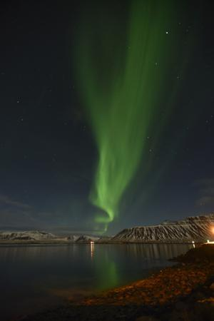 Northern Lights over Grundarfjordur Bay by Raul Touzon