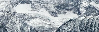 Panorama Image of Detail of Mountains by Raul Touzon